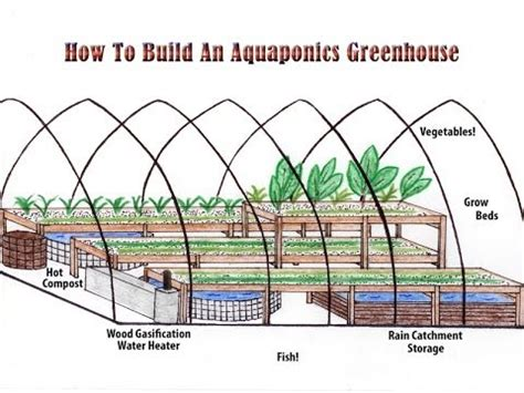 how to make house plans how to build an aquaponics greenhouse an aquaponics