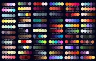 Color Palettes colour palettes no 1 by striped tie on deviantart