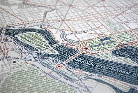 typography map more typographic city maps washington dc and new york andy woodruff