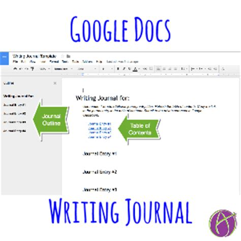 diary template docs docs writing journal tech