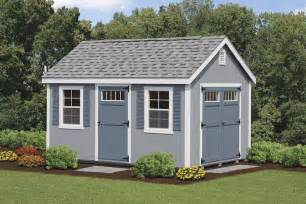 Gray Walls White Trim colonial sheds 8 to 14 wide sheds garages