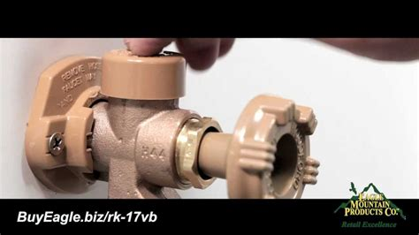 How To Replace Outdoor Faucet by Woodford Outdoor Faucet Vacuum Breaker Repair Or
