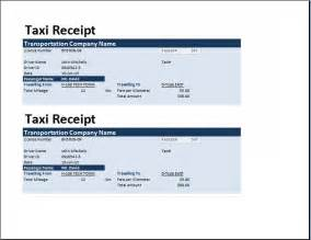 Free Receipts Templates by Ms Excel Taxi Receipt Template Receipt Templates