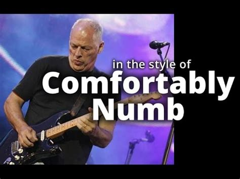comfortably numb backing track pink floyd comfortably numb backing track b minor end