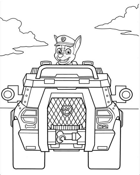 paw patrol printable coloring pages chase get this kids printable paw patrol coloring pages chase
