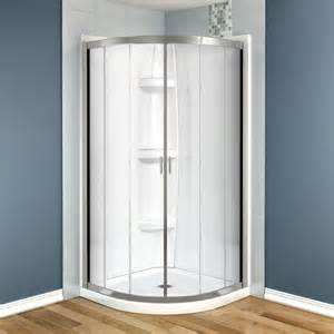 maax intuition 36 in x 36 in x 73 in shower stall in