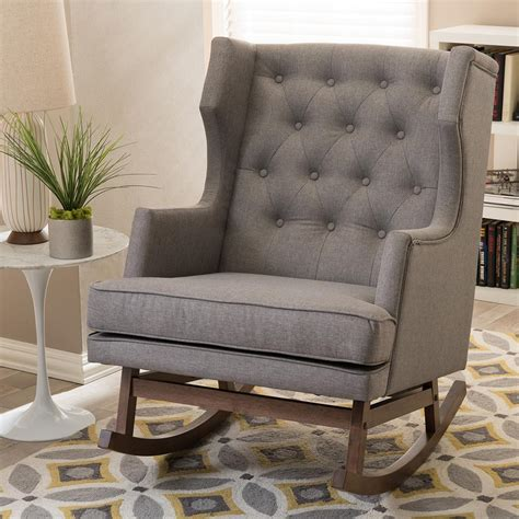upholstered rocking chair slipcover upholstered rocking chair slipcover stunning iona