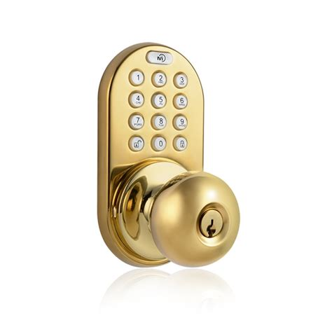 Door Knob Keypad by Milocks Dkk 02sn Electronic Keypad Key Entry Door Knob