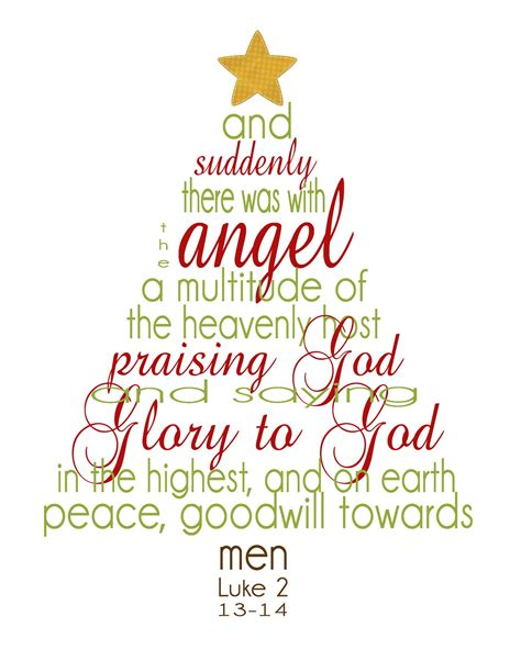 bible verses for christmas tree free printable quotes quotesgram