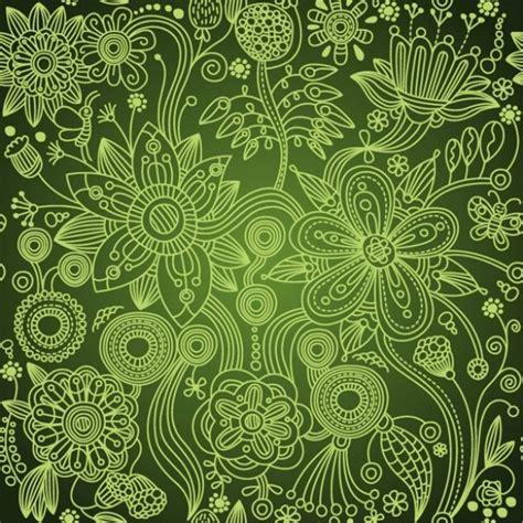 vintage pattern green deep green vintage floral seamless pattern welovesolo