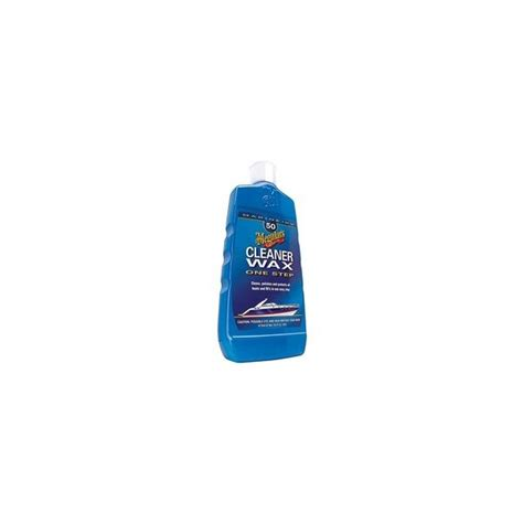 meguiars boat cleaning products meguiars cleaner wax no 50