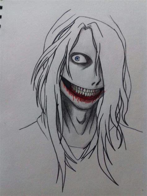 imagenes de jeff the killer para dibujar a lapiz facil como dibujar a jeff the killer x3 creepypastas amino amino