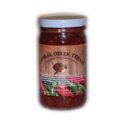 Sale Sambal Pohon Cabe 1 Kg sambal oelek terasi 16 oz by runel