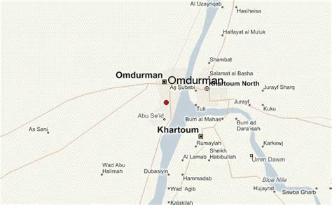 omdurman map omdurman location guide