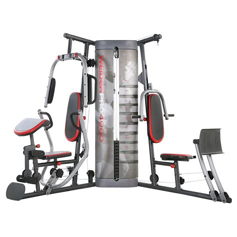 weider pro 4950 weight system fitness sports fitness