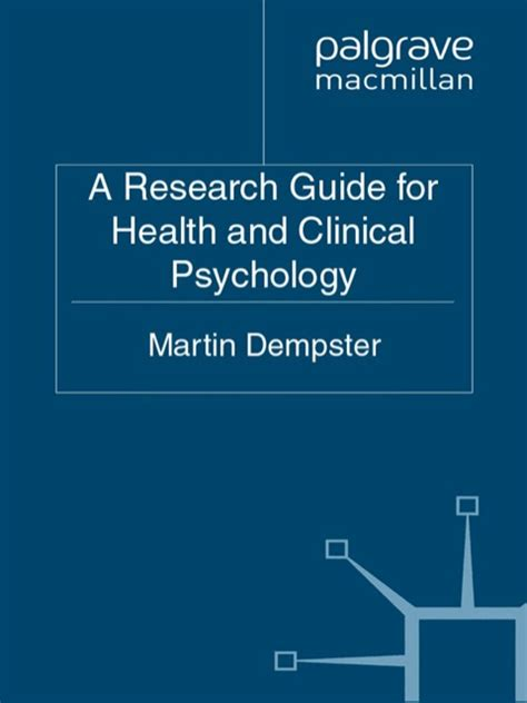 research matter a psychologist s guide to engagement books a research guide for health and clinical psychology b 243 ksalan