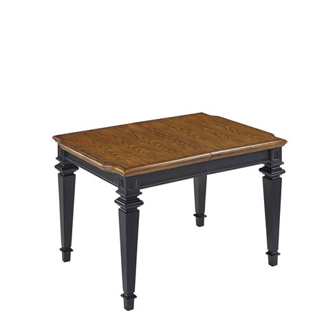 Black And Oak Dining Table Home Styles Black And Oak Americana Rectangular Dining Table Home Furniture Dining