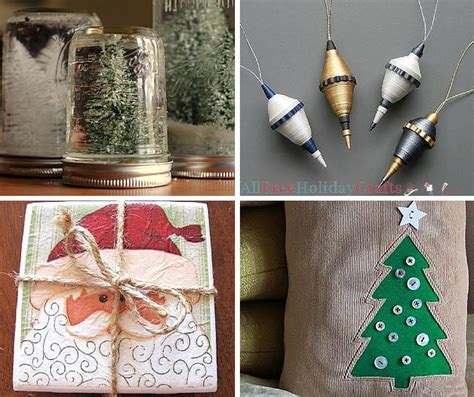 How To Make Holiday Crafts - 75 easy christmas crafts to make at the last minute allfreeholidaycrafts com