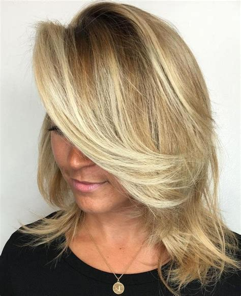 best medium length blonde style for fair warm skin tone but heavy body shape 40 styles with medium blonde hair for major inspiration