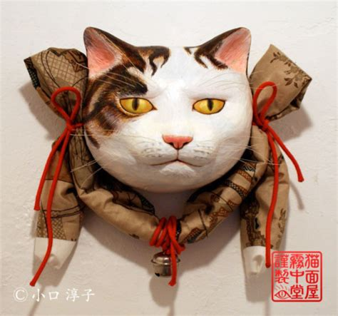 Feline Inspired Speakers From Japan by These Japanese Cat Masks Both Enchant And Terrify Soranews24