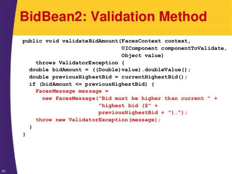 pattern validation jsf jsf 2 tutorial validating user input form field validation