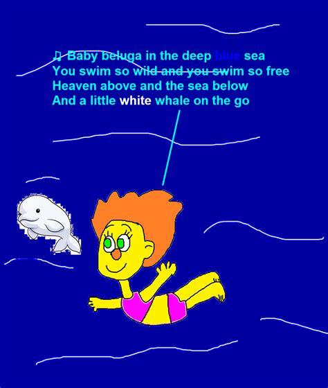 baby beluga full house sunny monster singing baby beluga by mikeeddyadmirer89 on deviantart