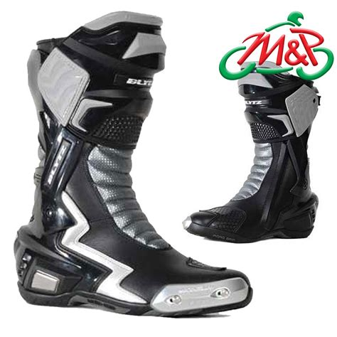 motorcycle racing boots pair blytz x pro motorcycle racing boots black size 12 uk