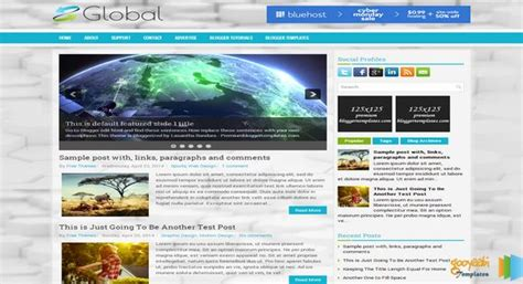 templates blogger education global responsive blogger template free graphics free
