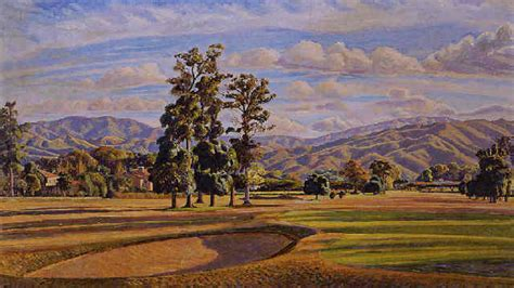 Bilddruck Auf Leinwand by Manuel Cabr 233 View Of The Country Club Caracas