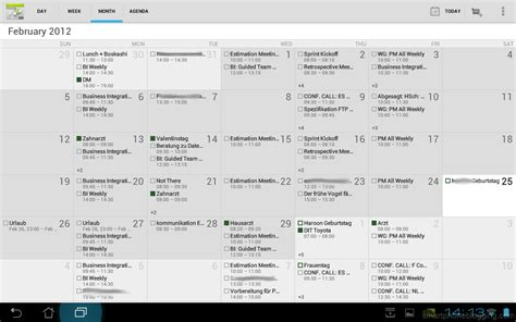 Calendar Update Ics Review Android 4 0 3 Ics For Tablets Eee Pad Transformer