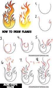 how to draw a doodle names step by step how to draw flames and drawing drawing