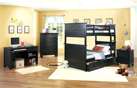 kids black bedroom furniture black bedroom set he119 kids bedroom
