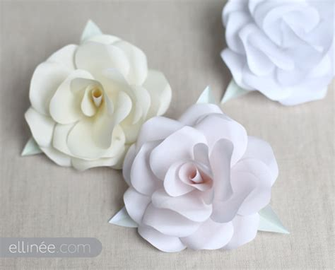 How To Make Paper Flowers For Wedding - search results for how to make paper roses templates