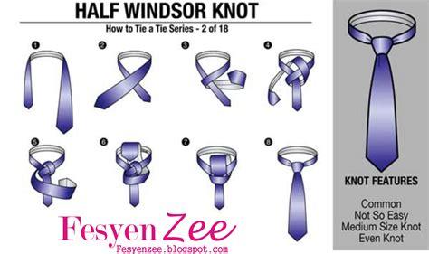 tutorial pasang dasi kantor cara memakai dasi kantor dilengkapi dengan gambar step by