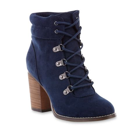 sm new york s giulianna navy bootie shop your way