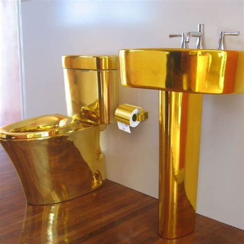 golden toilet golden toilet gold pinterest