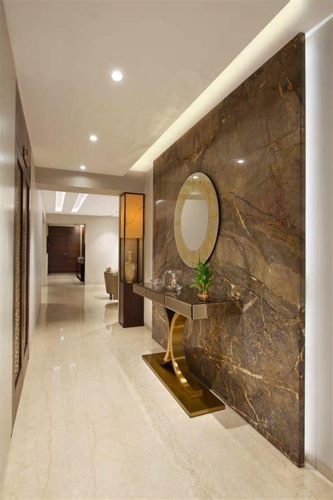 warm bliss modern corridor hallway stairs  ar