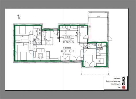 Plan De Maison Coté by Vos Avis Pour Plan Maison Plain Pied 140m 178 Garage 36