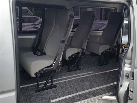 toyota hiace interior toyota hiace wheelchair accessible seats 7