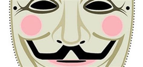 printable anonymous mask guy fawkes coloring pages