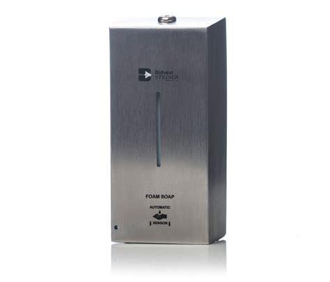 Dijamin Dispenser Sabun Touch Soap Dispenser touch free foam soap dispenser bidvest steiner