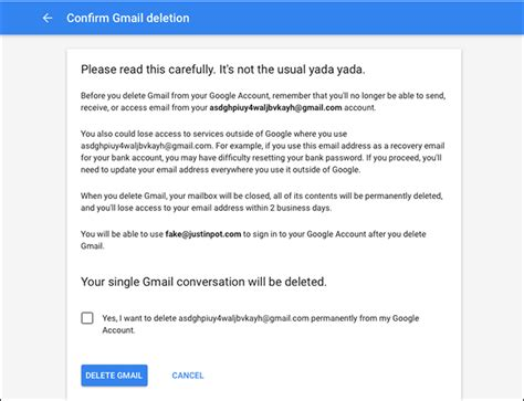 delete account how to delete your gmail or account