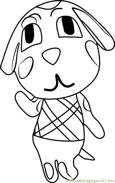 coloring pages of animal crossing new leaf animal crossing new leaf coloring pages maple animal