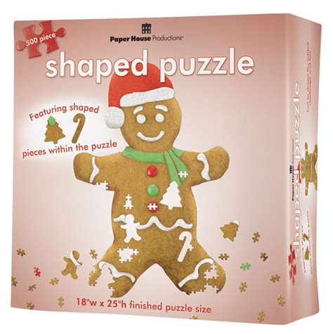 gingerbread man puzzle printable gingerbread man jigsaw puzzle puzzlewarehouse com