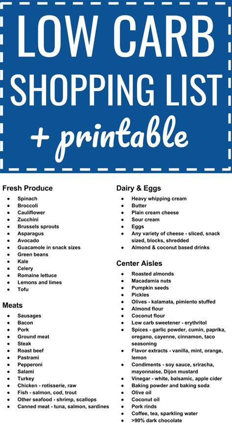 Pdf Ketogenic Kitchen Carb Extraordinary Health by Low Carb Keto Grocery Shopping List Plus Printable Pdf