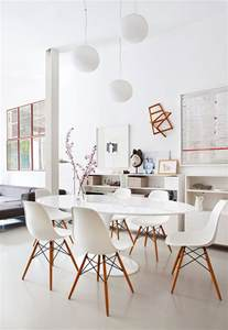 Eames Ball Chair Dining Rooms That Double As Workspace Sfgirlbybay