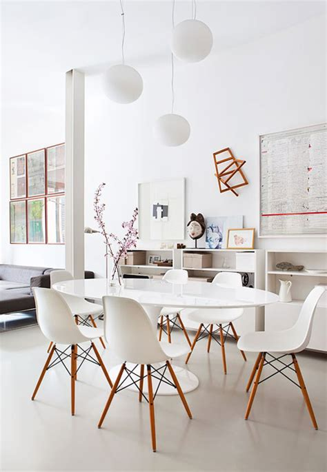 white dining room dining rooms that double as workspace sfgirlbybay