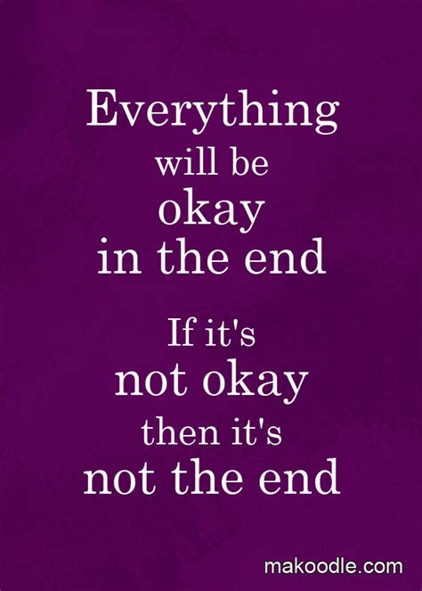 It Will Be Ok everything will be okay free printable makoodle