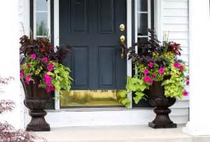 plants for front door urns home decor and organization