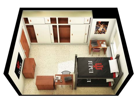iupui housing floorplans amenities ball residence hall explore on cus housing housing and